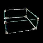 Easy Fires: Glazen Ombouw Vierkant 43x43