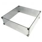Elementi: Brandwerende Vierkant Glazen Rand 56x56