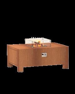Forno: Brann VBC1 Vuurtafel Vierkant - Cortenstaal