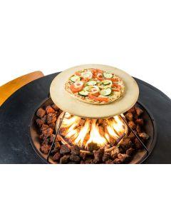 Happy Cocooning: Pizzasteen Cocoon Table - Zwart