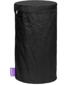 Happy Cocooning: PVC Cover voor de LPG Tank Bijzettafel (10,5 Kilo) - Zwart