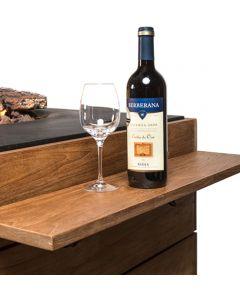 Happy Cocooning: Houten Side Table voor Vierkant klein met 2 poeder coated/rubber steunen - 2 stuks