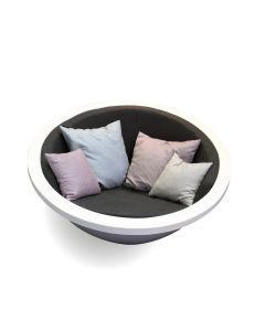 One to sit: Lounge Fauteuil Sphere RAL - Wit