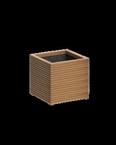 Adezz: Malaga Rhombus HRS4 Plantenbak - Hardhout