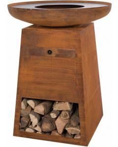 Redfire: Orion Classic Vuurtafel BBQ - Rust