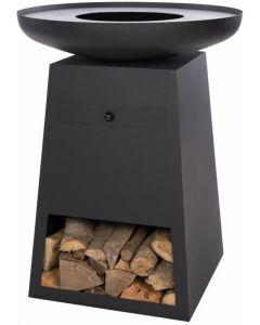 Redfire: Orion Classic Vuurtafel BBQ - Zwart