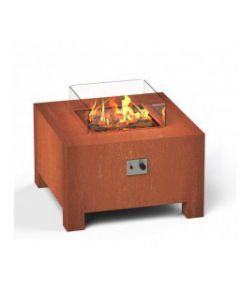 Burni: Brann VBC1 Vuurtafel Vierkant - Cortenstaal