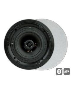 ArtSound: FL501BT Actieve Outdoor Inbouw Speakers (rond) - Wit