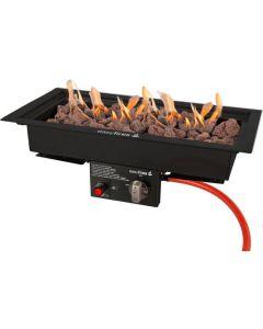 Easy Fires: Inbouwbrander 50 x 22 - zwart