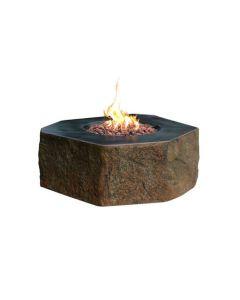 Elementi: Dukono Vuurtafel Vezelbeton - steenlook