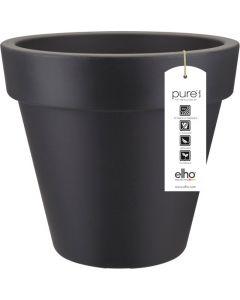 Elho: Pure Round Plantenbak 50 cm  -  Antraciet