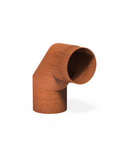 Forno: Rookkanalen Steel 2mm BAC11.150 Flue 90° Steel 2mm - koper