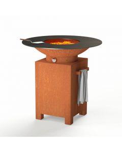 Forno: BFC3 Houtskoolbarbecue - Koper