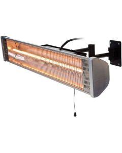 Sunred: Wand Terrasverwarmer HWM18 - Zilver