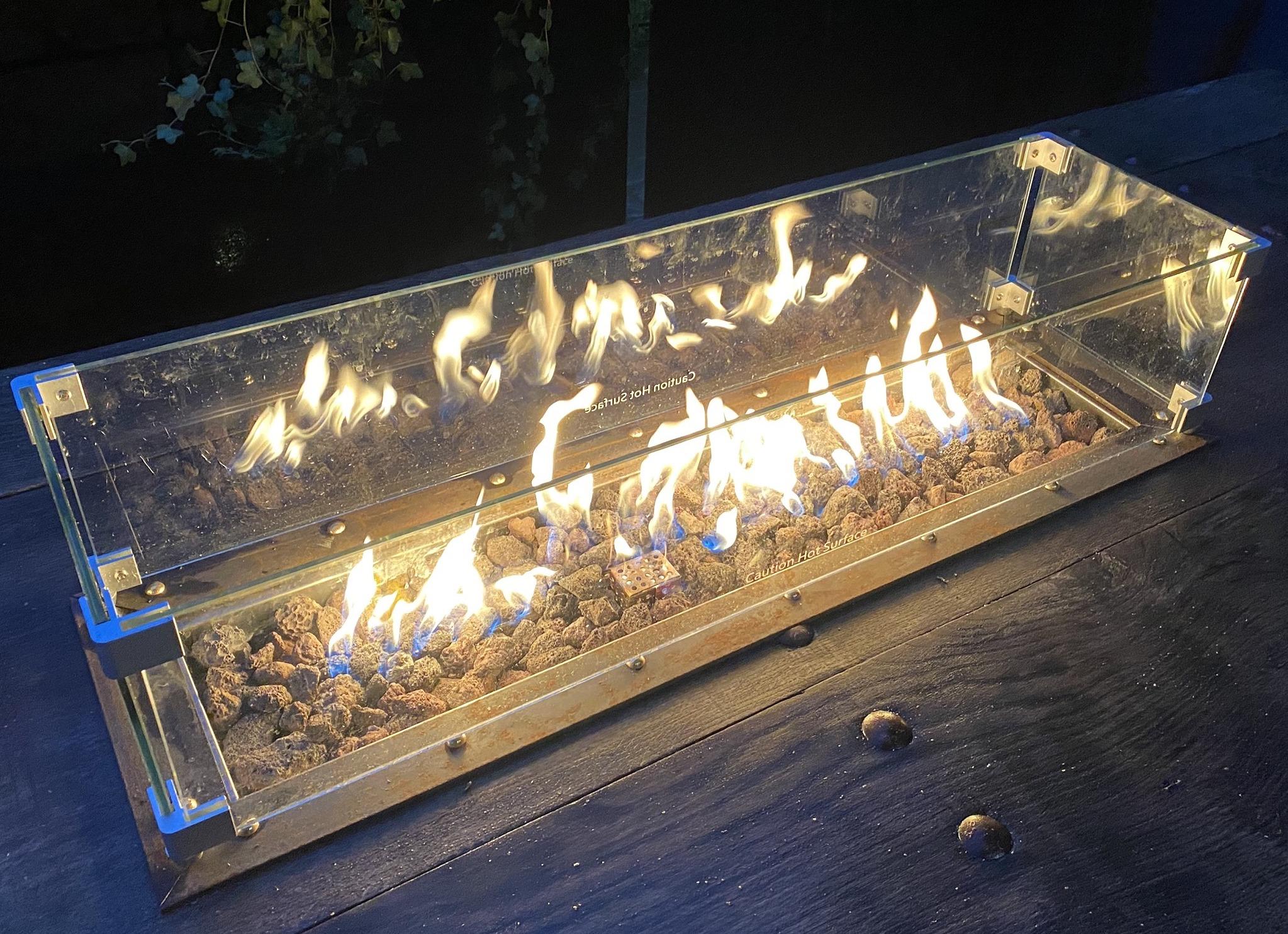Inbouwbranders: maak je eigen vuurtafel!